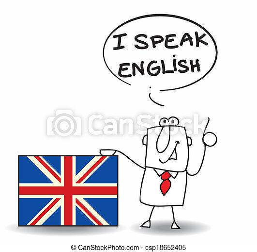 tal engelsk