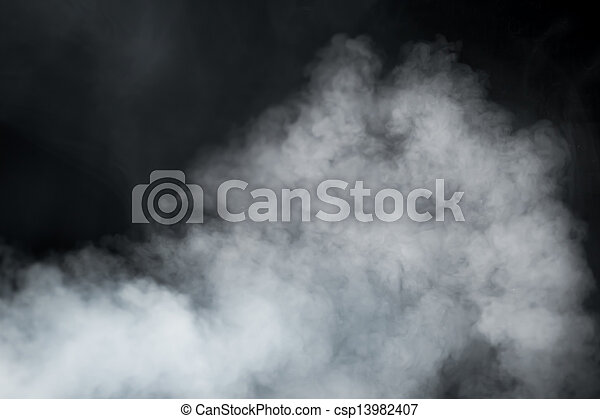 dense, fumée, fond - csp13982407
