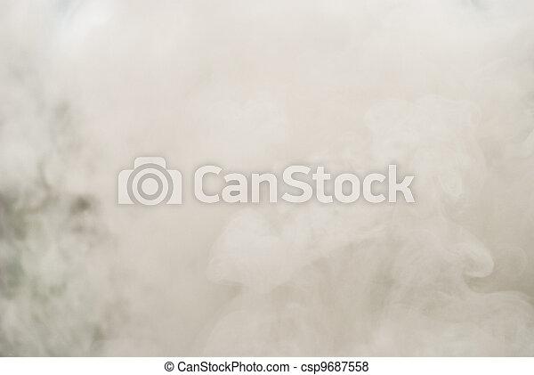 dense, fumée - csp9687558