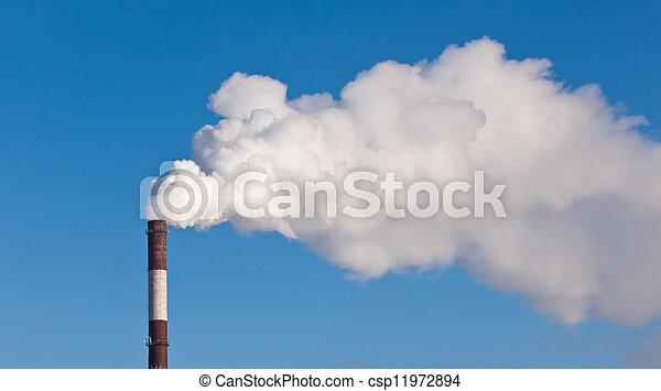 dense, fumée - csp11972894