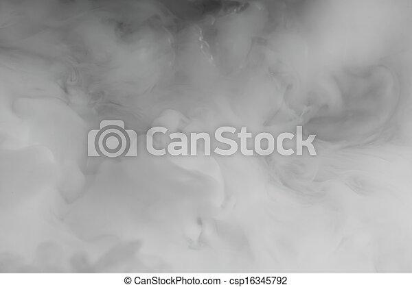 dense, fumée, toile de fond - csp16345792