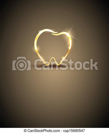 dentaire, conception - csp15690547