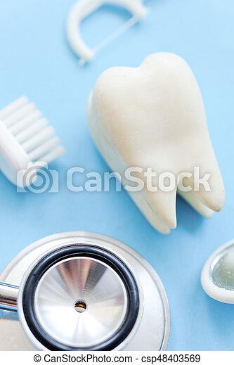 dental background - csp48403569