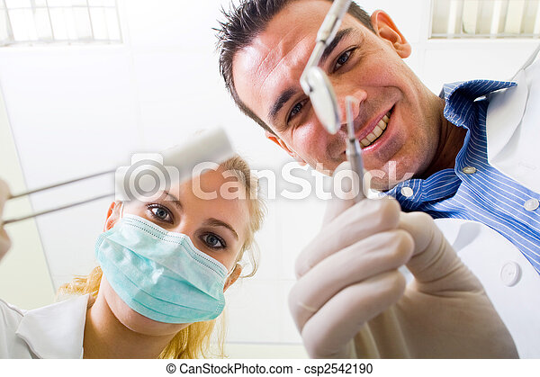 dental, betrieb - csp2542190
