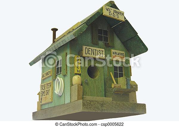 Dental Bird House - csp0005622