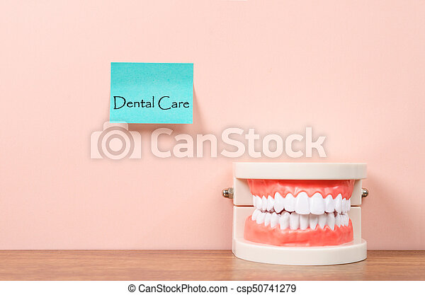 Dental care concept. - csp50741279