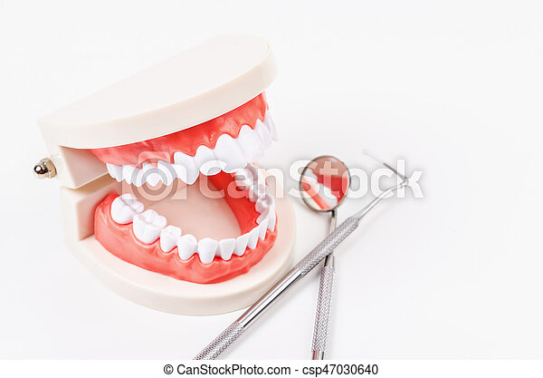 Dental care concept. - csp47030640