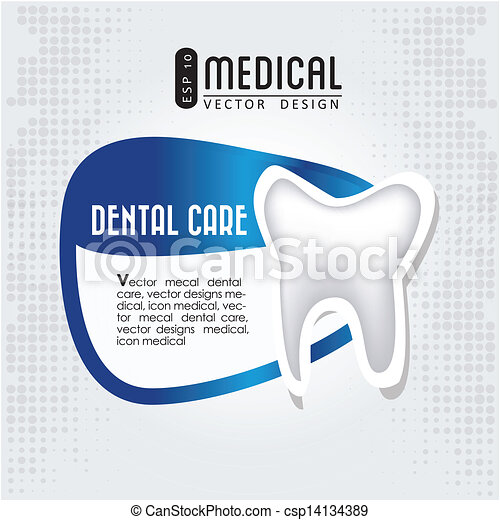 dental care icon  - csp14134389