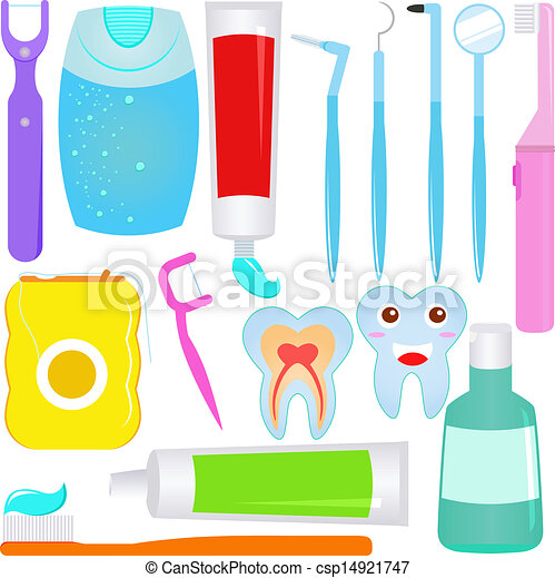 Dental care (Tooth) - csp14921747