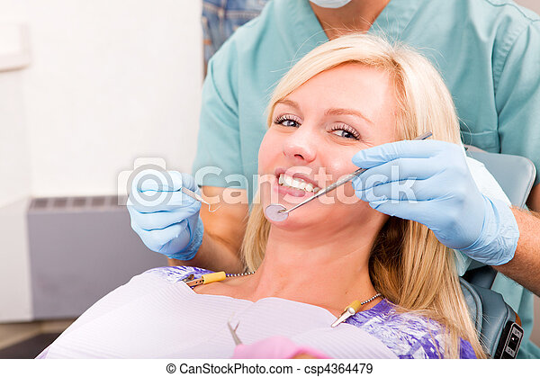 Dental Check-Up - csp4364479