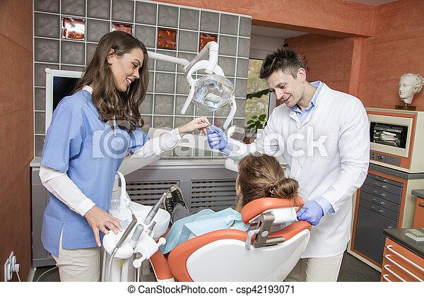 Dental checkup - csp42193071