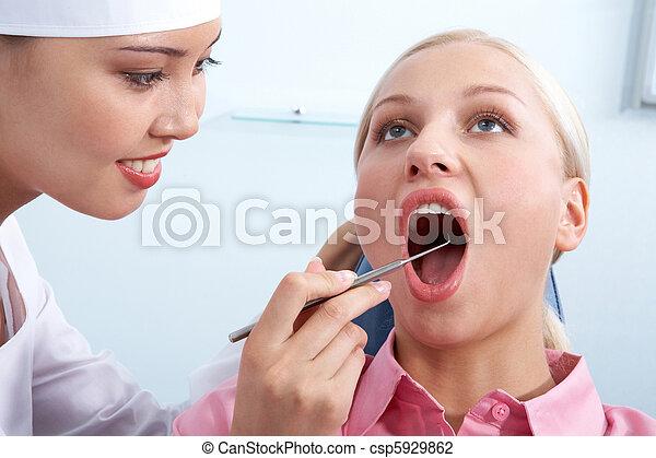 Dental checkup - csp5929862