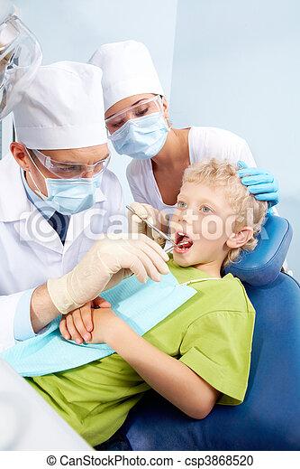 Dental checkup - csp3868520