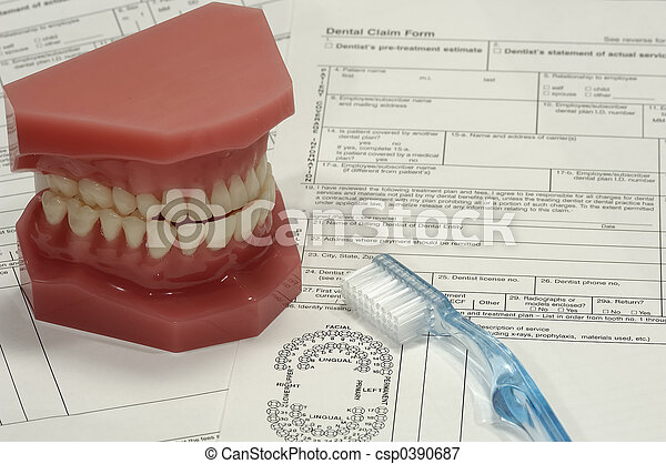 Dental Claim - csp0390687