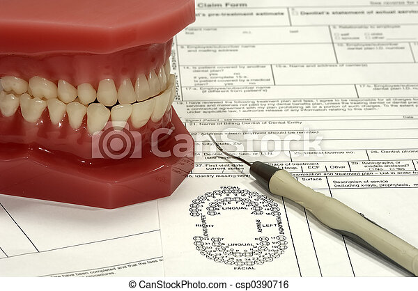 Dental Claim - csp0390716