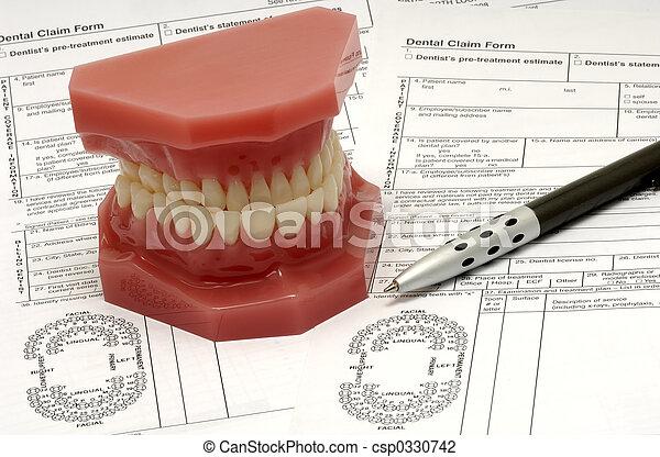 Dental Claim - csp0330742