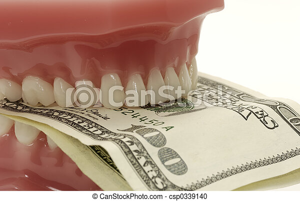 Dental Costs - csp0339140
