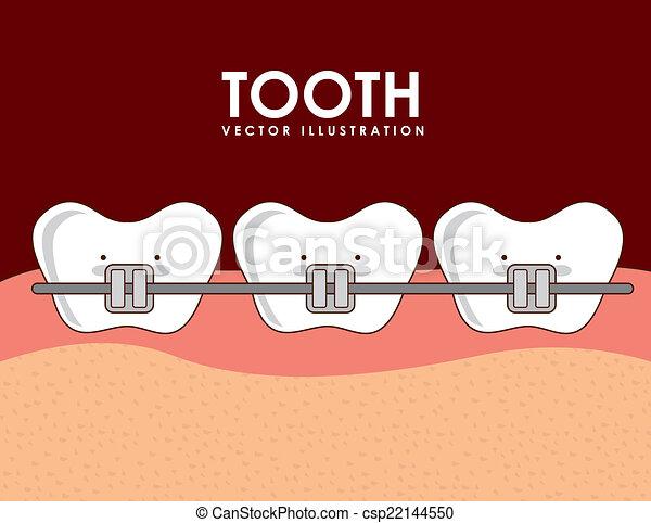 dental design  - csp22144550