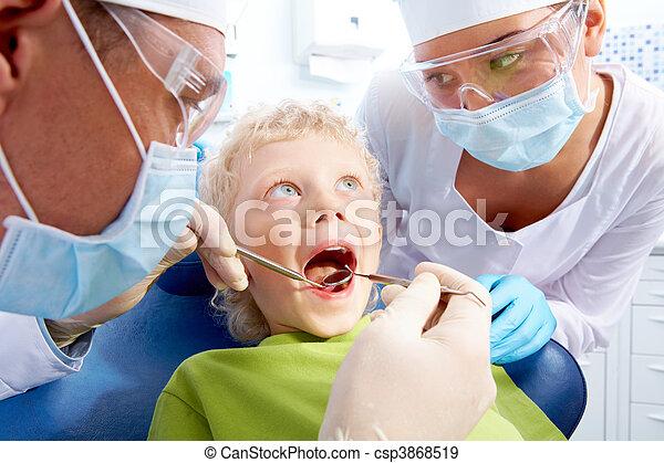Dental examination - csp3868519
