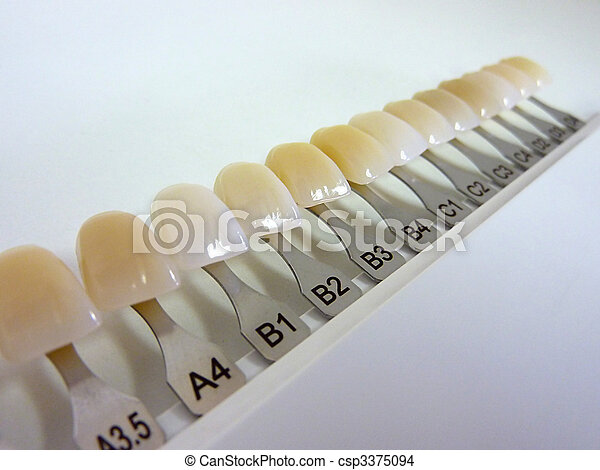 dental, führer, schatten - csp3375094