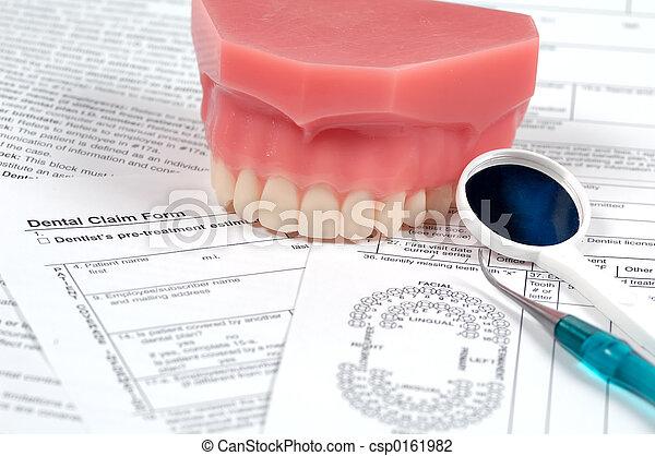 Dental Forms - csp0161982
