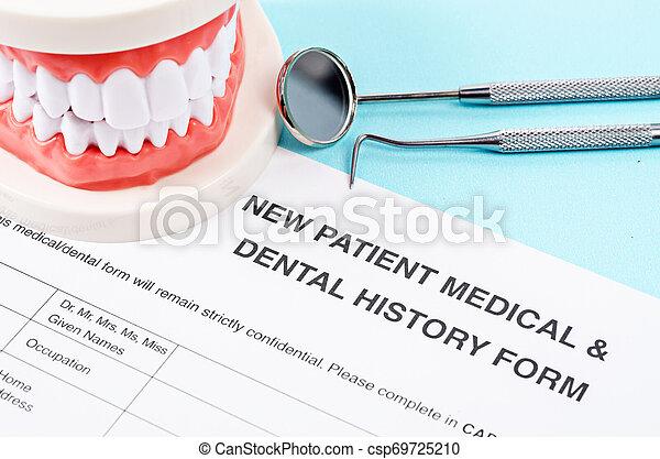 Dental health and teeth care concept. - csp69725210