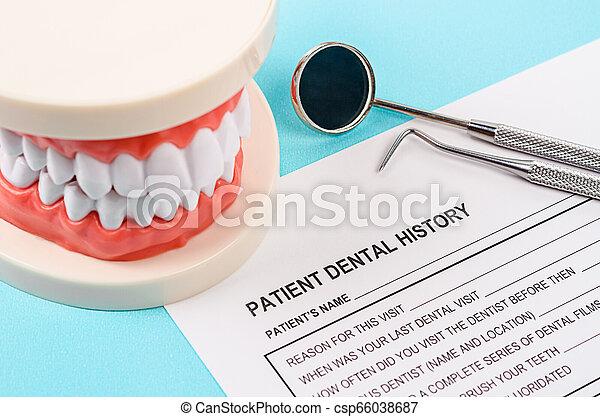 Dental health and teeth care concept. - csp66038687