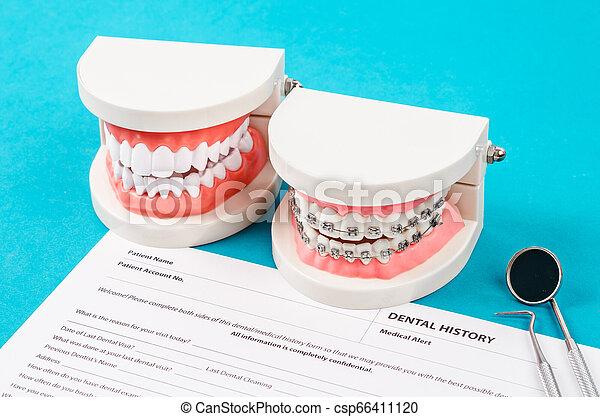 Dental health and teeth care concept. - csp66411120