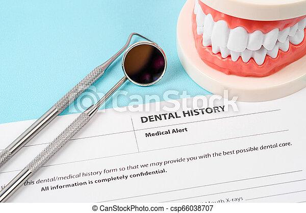 Dental health and teeth care concept. - csp66038707