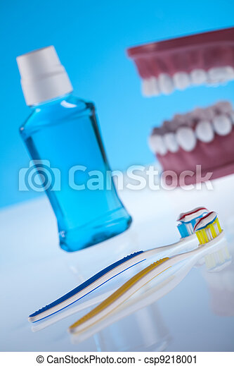 Dental health care objects - csp9218001