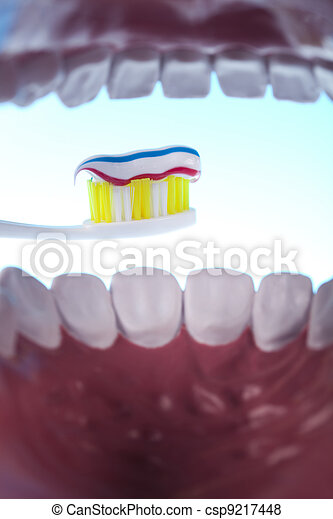 Dental health care objects  - csp9217448