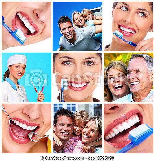 dental, health. - csp13595998