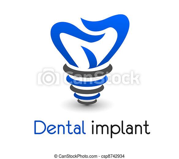 icono dental - csp8742934