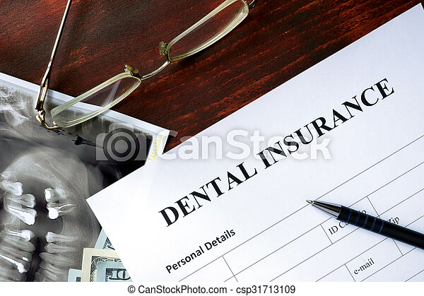 Dental insurance form - csp31713109