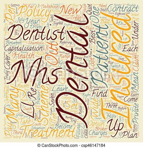 Dental insurance the nhs in dental shambles text ...
