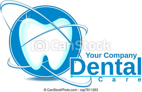 dental logotype - csp7611263