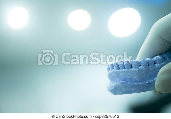 Dental mold dentists clay teeth ceramic plate cast