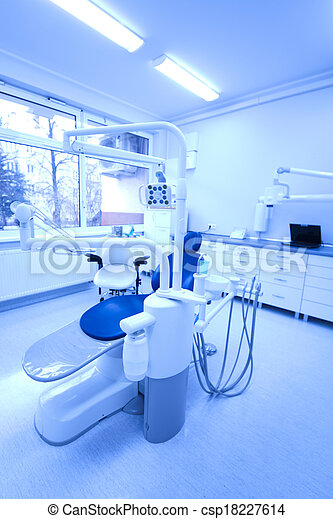 Dental office, equipment - csp18227614