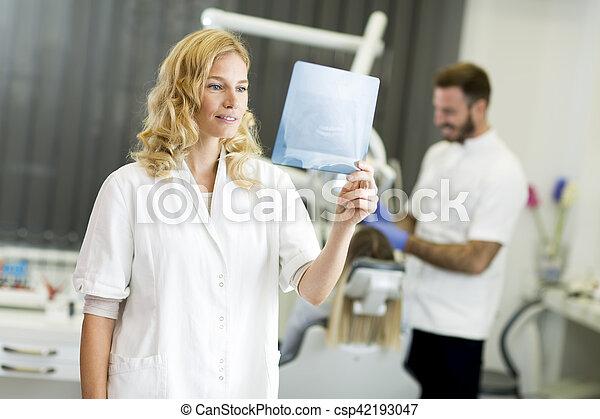 Dental office - csp42193047