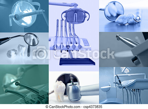 Un fondo dental - csp4373835