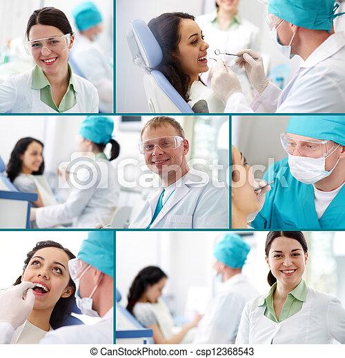 Dental practice - csp12368543