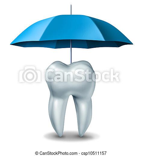 Zahnschutz - csp10511157