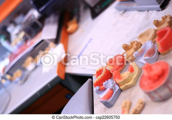 Dental technician - csp22605750