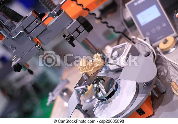 Dental technician - csp22605898