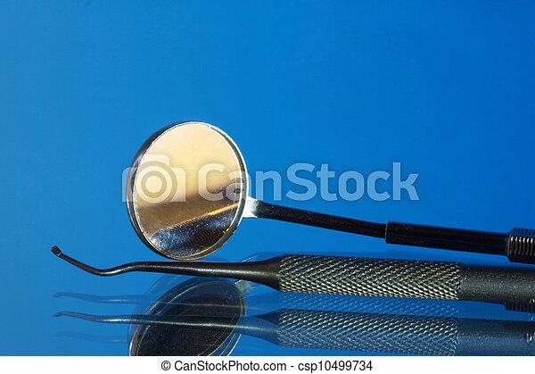 Dental tools and equipment - csp10499734