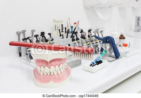 Dental tools - csp17444349