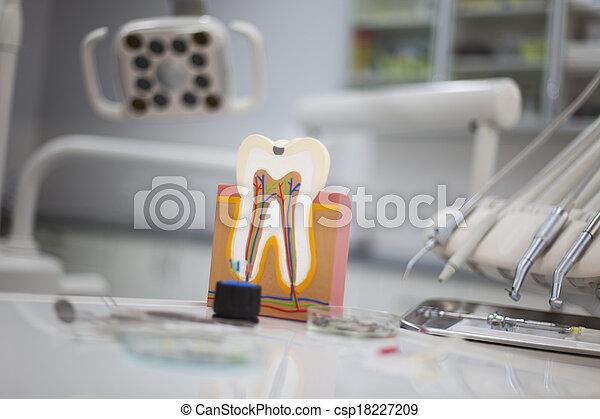 Dental tools - csp18227209