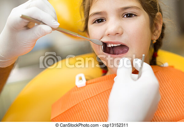 Dental visit - csp13152311