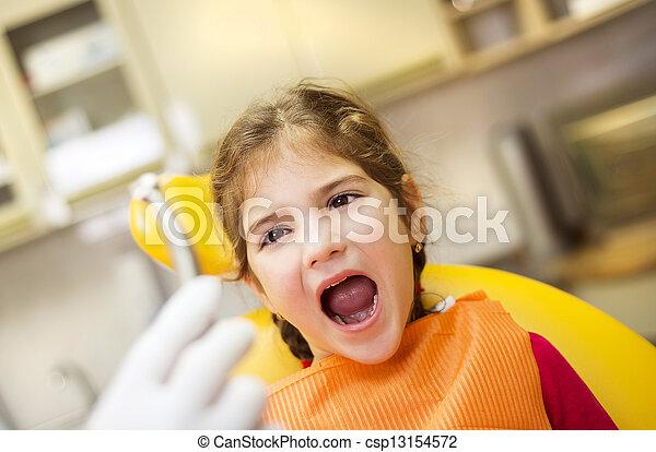 Dental visit - csp13154572