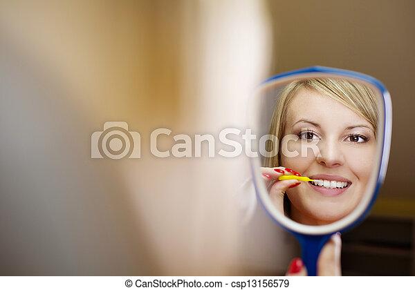 Dental visit - csp13156579
